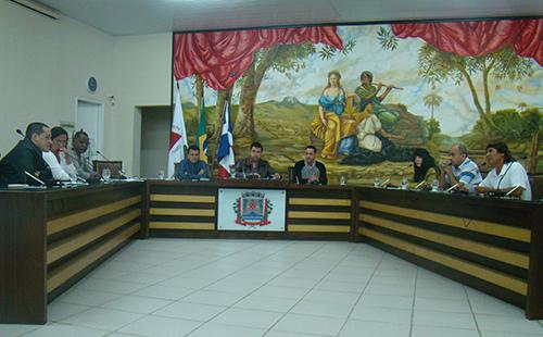Reunião entre a Comissão de Saúde da CMU e a Secretaria Municipal de Saúde