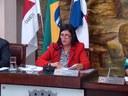 Presidente da Câmara, Vereadora Rosângela Maria Alfenas de Andrade