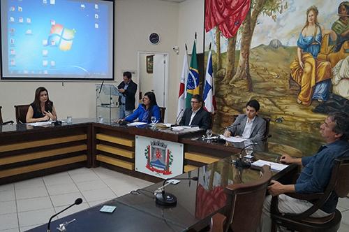 Mesa Diretora da Audiência Pública