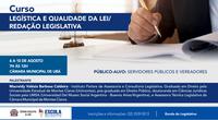 A qualidade dos textos legais:  CMU promove mais um curso gratuito