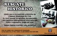 Câmara Municipal de Ubá realiza levantamento para resgatar a história do Poder Legislativo
