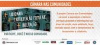 Câmara realiza segunda edição do projeto Câmara nas Comunidades