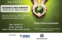 CMU comemora dia do Meio Ambiente com palestra na próxima sexta-feira