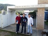 CMU é representada na oficina Interlegis Câmara Verde na cidade de Cordeiro/RJ