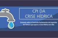 Comissão Parlamentar de Inquérito da Câmara apura a Crise Hídrica em Ubá