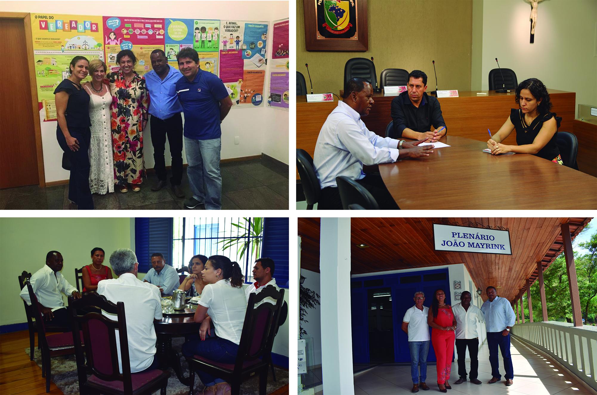 """""""Encontros com a política"""" da ALMG será desenvolvido em Ubá, Viçosa e Ponte Nova por meio de parcerias firmadas entre as Câmaras"""