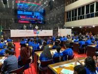 Jovens Parlamentares de Ubá participam de plenária final do projeto na ALMG
