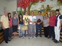 Servidores da Câmara de Cataguases visitam CMU