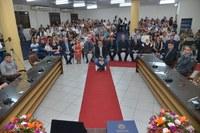 Títulos de Cidadania Honorária e Personalidade Ubaense do Ano são entregues em solenidade na Câmara